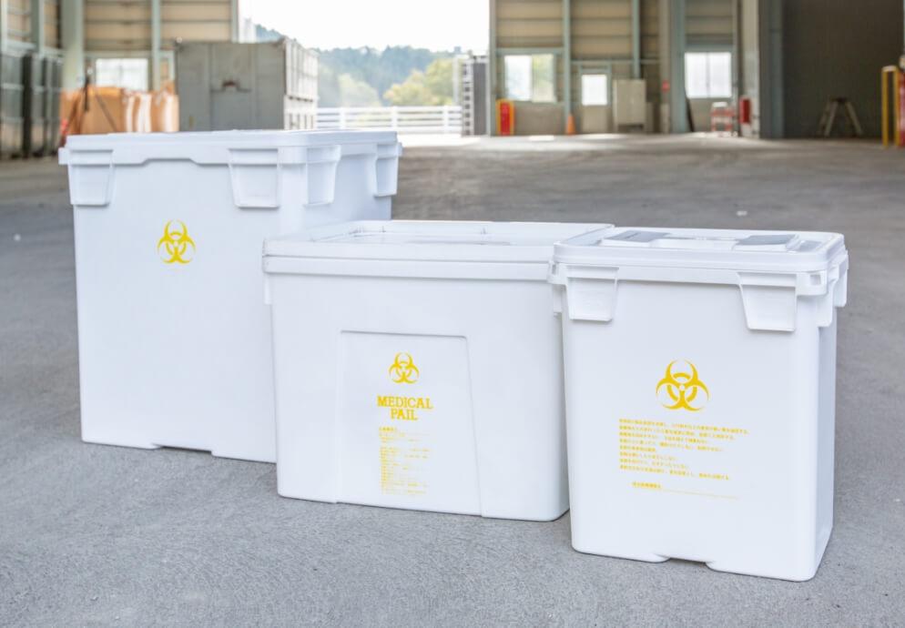 感染性産業廃棄物回収