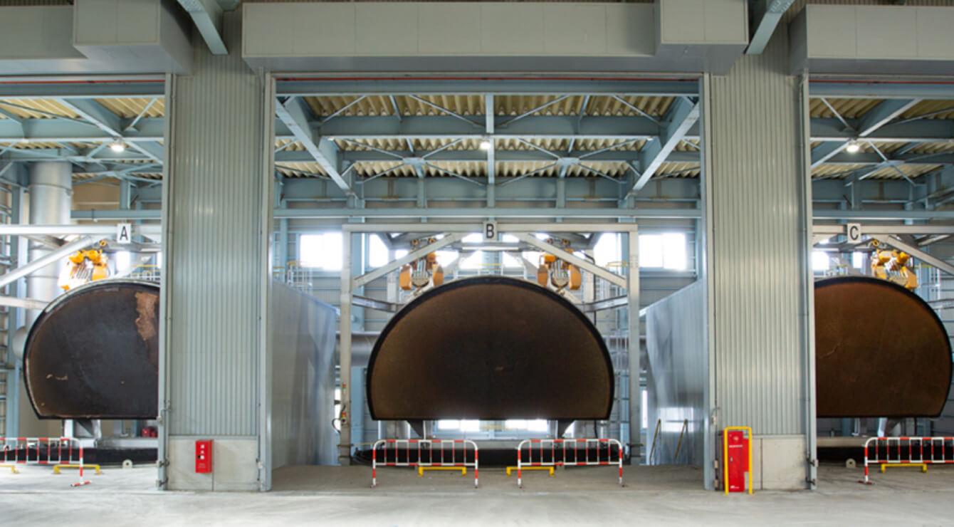 乾留ガス化炉