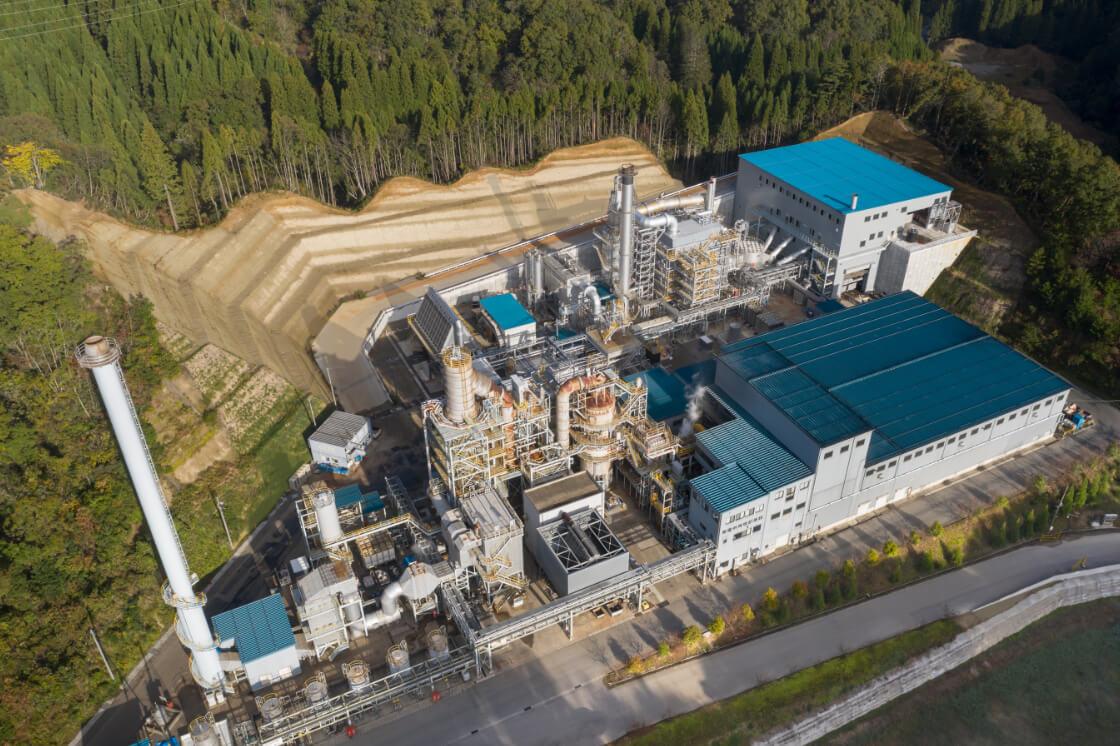 発電併用焼却施設